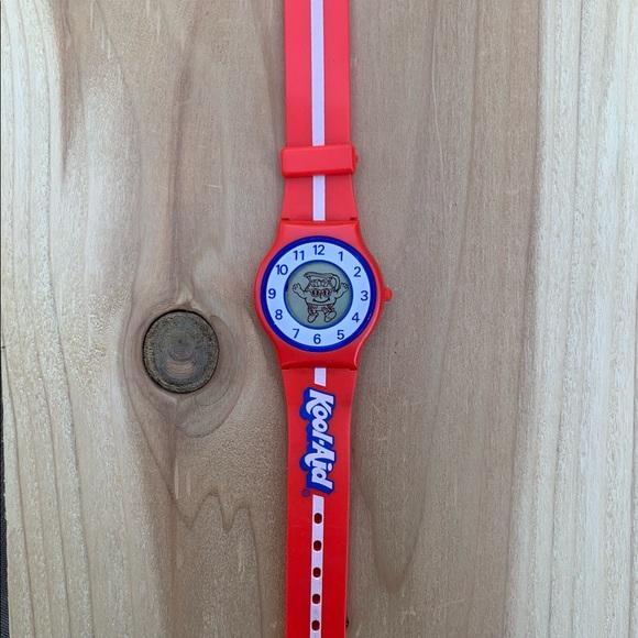 Vintage 80's Kool-Aid Digital Watch